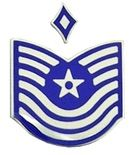 (With one chevron)  First sergeant