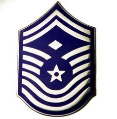(With one more chevron)  First sergeant