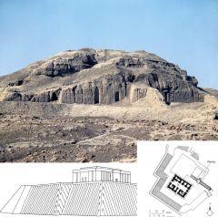 #12 White Temple and its Ziggurat Uruk (modern Warka), Iran 3,500 - 3,000 B.C.E. Sumerian _______________________ Content: Only the ziggurat (platform) still stands today. The temple once stood on top of it. The ziggurat still retains its dense st...