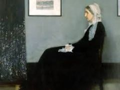 Arrangement in Gray and Black: The Artist's Mother