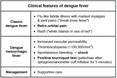 viral infection spread by Aedes mosquito  can lead to circulatory failure