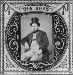 My Definition: Head politician of a political machine.    Sentence: One of the most significant Party Bosses of the New York Political Machine was William M. Tweed.