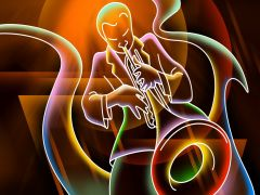 My Definition: New form of African-American music that used western instruments.   Sentence: Jazz and other musical styles were growing increasingly popular amongst its own peoples in ethnic neighborhoods.