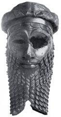 Pertenece al imperio Acadio en la cuenca de Mesopotamia