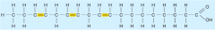 an unsaturated fatty acid