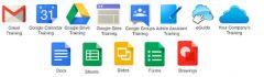 Existen varias, entre ellas: Gmail, Google Calendar, Google Docs, Google Drive, Google Sites, Google Apps Vault.