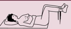 supina piernas elevadas