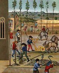 ¿Cómo se denomina el sistema económico de la Edad Media?