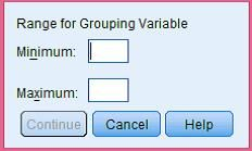From what analysis the below window in SPSS?