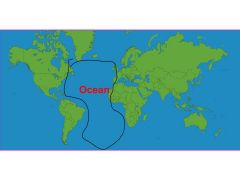 Arctic Ocean Atlantic Ocean Pacific Ocean Indian Ocean