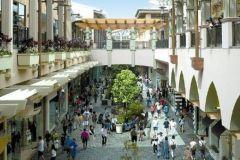 shopping center or mall