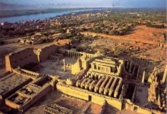 """#20   Temple of Amun-Re and Hypostyle Hall at Karnak   near Luxor, Egypt   New Kingdom - 18th and 19th Dynasties   _______________________   Content: This particular complex of the temple is massive: 7,270 acres. It consists of a """"py..."""