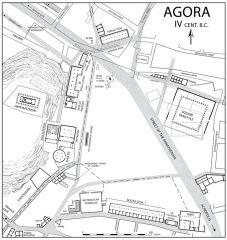 #26   Athenian Agora   Athens, Greece   Archaic through Hellenistic Greek   600 B.C.E. - 150 C.E.   ______________________   Content: The agora was a public center for politics and economics in the city of Athen and became a cultural...