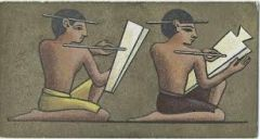 What kinds of things did scribes do?
