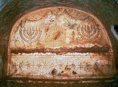 Jewish Catacomb, Villa Torlonia, Rome, Late Antiquity, 3rd century CE