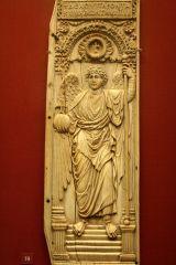 St. Michael the Archangel, Ivory Panel, Constantinople, Byzantine, 6th Century CE