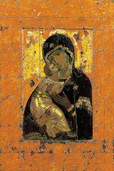 Vladimir Virgin, Constantinople, Byzantine, 12th Century