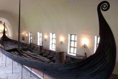 Ship, Oseberg Ship Burial, Oseberg, Norway, Norse, 815-820 CE.
