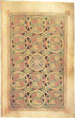 Carpet Page, Book of Durrow, Hiberno-Saxon, 7th Century CE.
