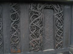 Carvings, Stave Church, Urnes, Norway, Norse, 12th Century CE.