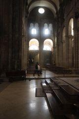 Transept, Cathedral, Santiago de Compostela, Romanesque, 1078-1122.