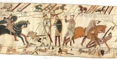The Bayeux Embroidery, Bayeux, France, Romanesque, 1070-1080.