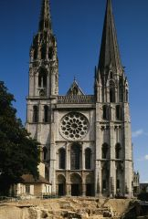 West Façade, Chartres Cathedral, Early Gothic, 1134-1260.