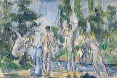Nove anni dopo Cézanne ripropone lo stesso tema nel suo stile più maturo.