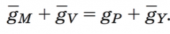 quantity theory for inflation