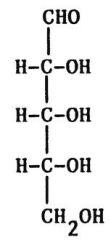 Monosaccharide de 5 carbones.