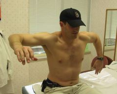 The scapula has an integral role in the overhead throwing motion. It must rotate during cocking & acceleration to clear the acromion to prevent impingement on the RC. 5 important roles of the scapula during throwing: 1. provide a stable glenohumer...