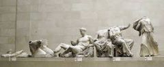 #35   Helios, Horses, and Dionysus (Heracles?)   Acropolis, Parthenon, Athens, Greece   447 - 424 B.C.E.   _____________________   Content: