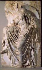 #35   Victory adjusting her sandal   Acropolis, Athens, Greece   447 - 424 B.C.E.   _____________________   Content: