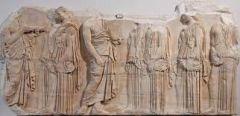 #35   Plaque of the Ergastines   Acropolis, Athens, Greece   447 - 424 B.C.E.   _____________________   Content: