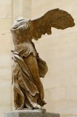 #37   Winged Victory of Samothrace   Hellenistic Greek   190 B.C.E.   _____________________   Content:
