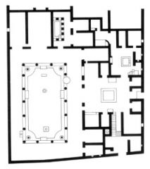 #39   House of Vettii   Pompeii, Italy   Imperial Roman   original: second century B.C.E.   rebuilt: 62 - 79 C.E.   ___________________   Content: