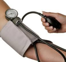 (N): the pressure of blood as it travels around the body